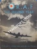 Book cover of R.A.F. The Second Year by Adam and Charles Black